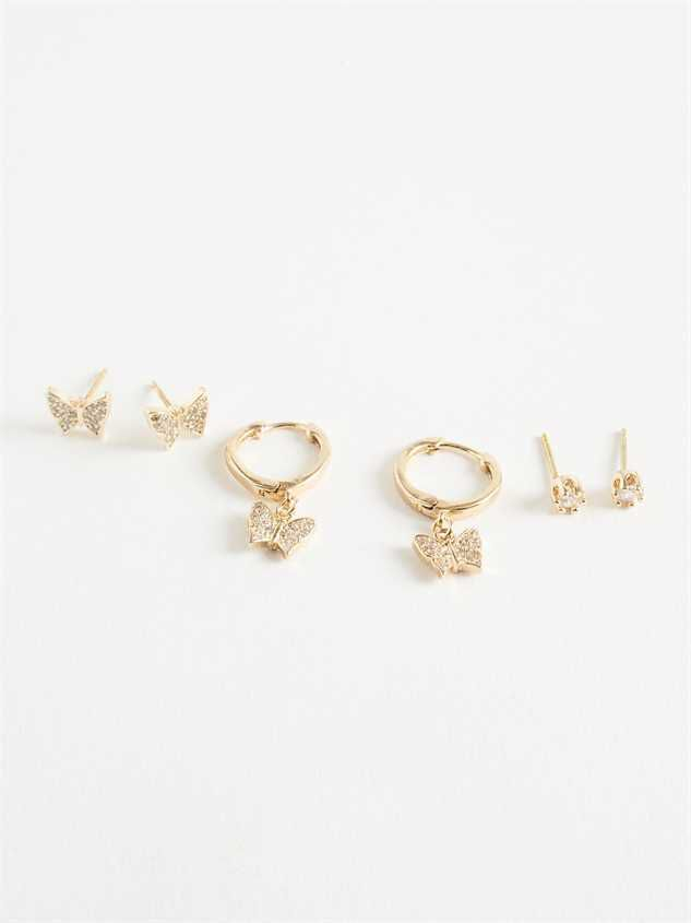 Spread Your Wings Earring Set - Altar'd State