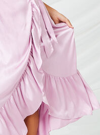 Ceres Satin Maxi Dress Detail 4 - Altar'd State