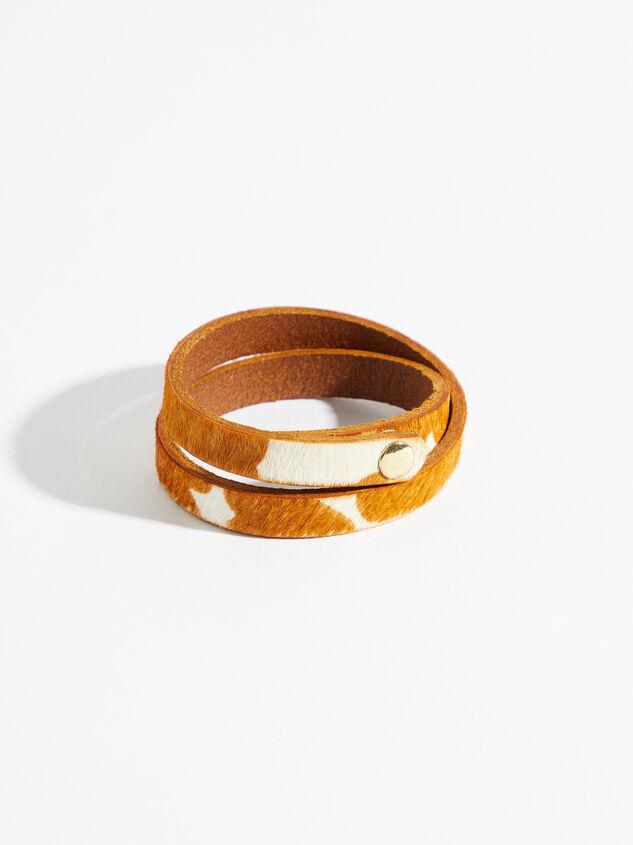Double Wrap Cow Bracelet Detail 2 - Altar'd State