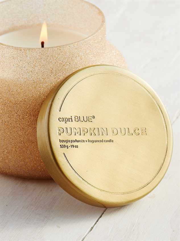 Glitter Pumpkin Candle Detail 3 - Altar'd State