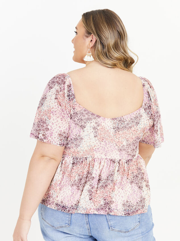 Piper Floral Top Detail 3 - Altar'd State