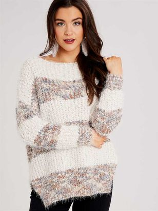 Lovely Lash Marled Sweater - Altar'd State