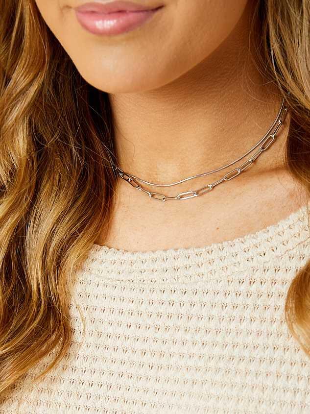 Sage Necklace - Silver Detail 3 - Altar'd State