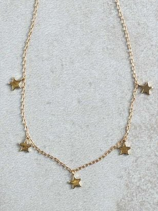 Star Dangles Necklace - Altar'd State