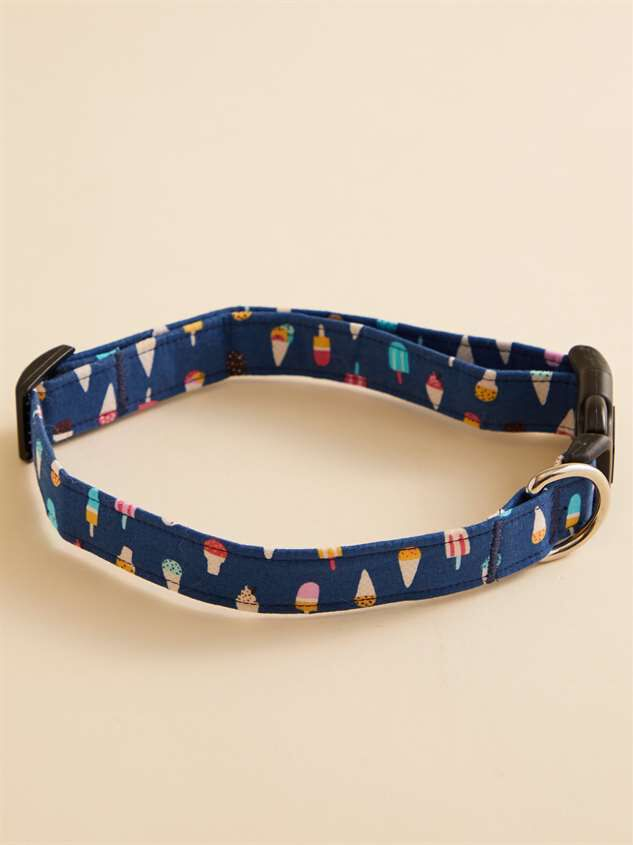 Bear & Ollie's Ice Cream Dog Collar - Large - Altar'd State