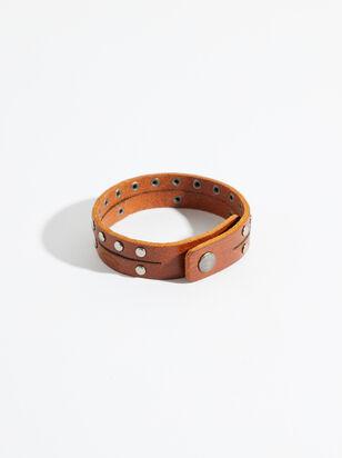 Double Strand Leather Bracelet - Altar'd State