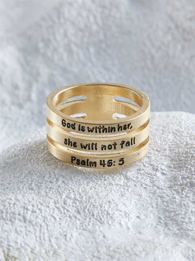 Psalm 46:5 Ring - Altar'd State