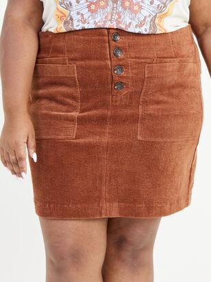 Janna Corduroy Skirt - Altar'd State