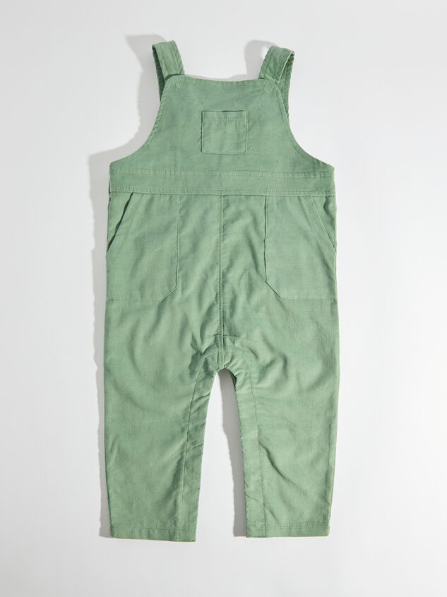 Tullabee Green Corduroy Overalls - Altar'd State