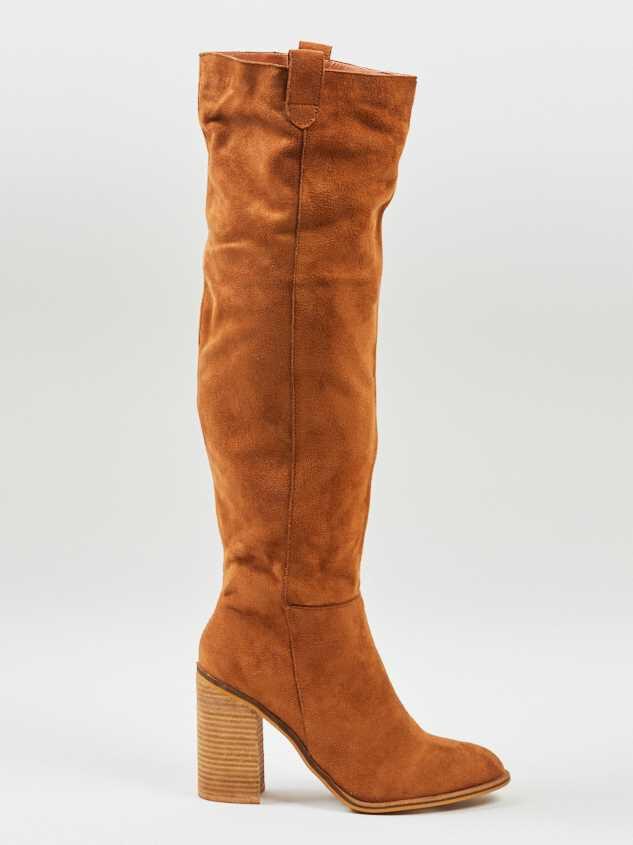 Saint Knee High Boots Detail 3 - Altar'd State