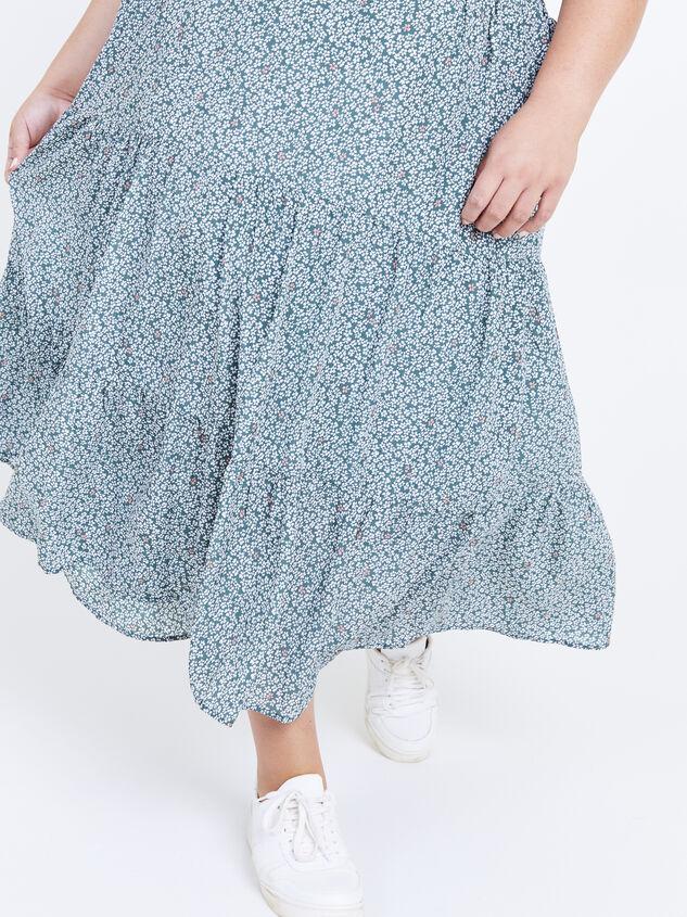 Remi Midi Skirt Detail 5 - Altar'd State
