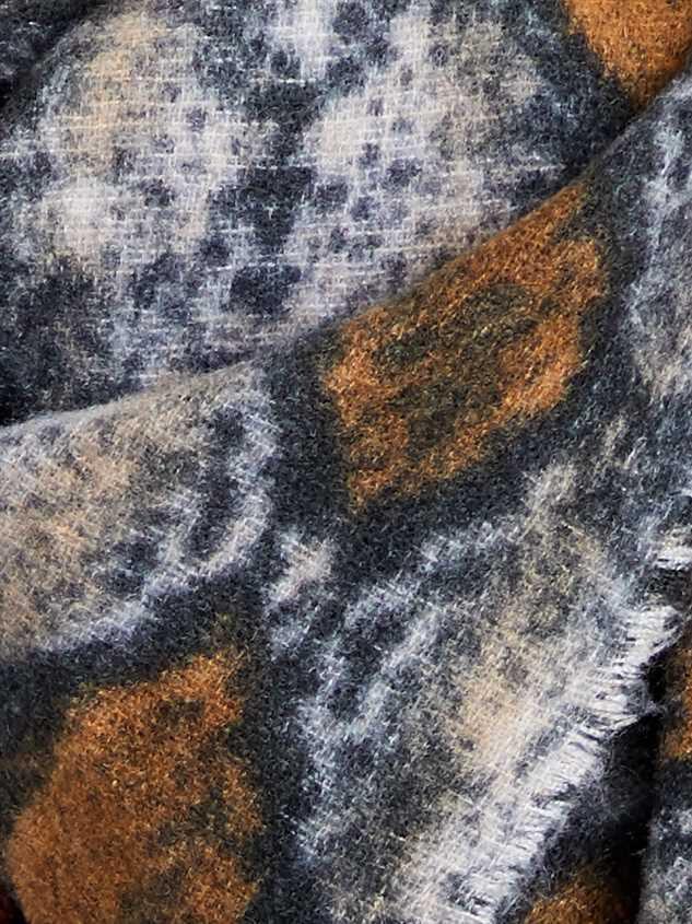 Snakeskin Scarf Detail 2 - Altar'd State