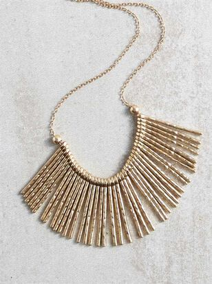 On the Fringe Necklace - Altar'd State