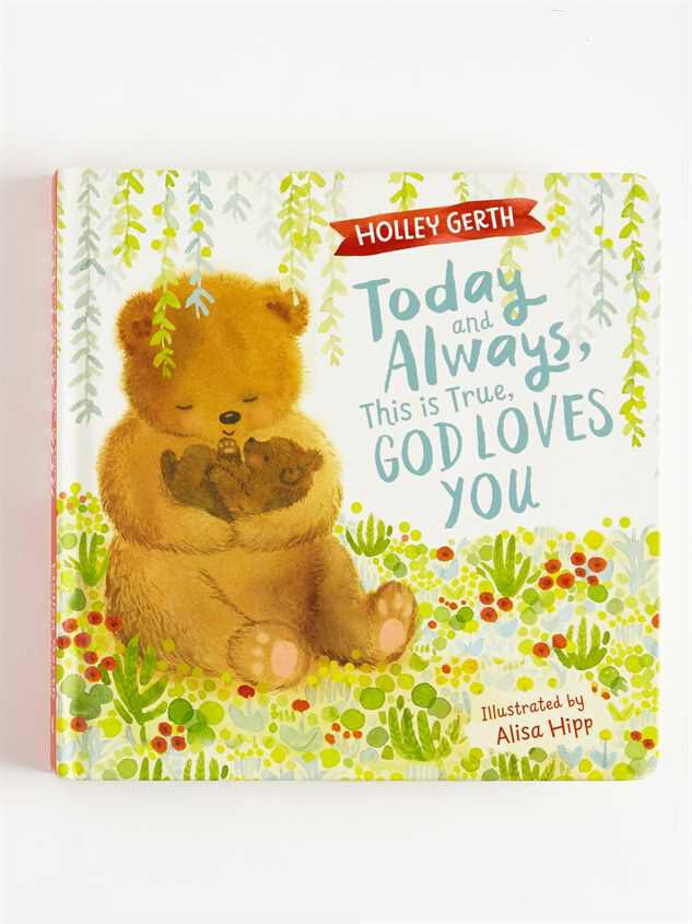 Tullabee God Loves You Bear Book - Altar'd State