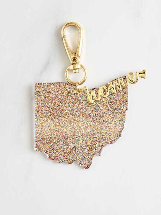 Home Glitter Keychain - Ohio - Altar'd State