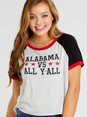 Alabama vs All Yall Top - Altar'd State