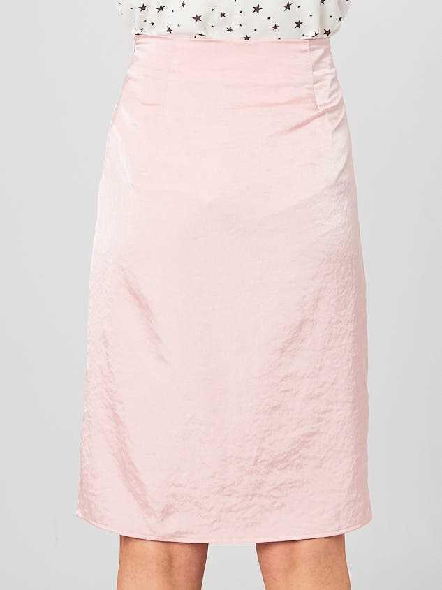 Adalyn Midi Skirt Detail 3 - Altar'd State