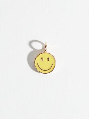 Smiley Face Enamel Charm - Altar'd State