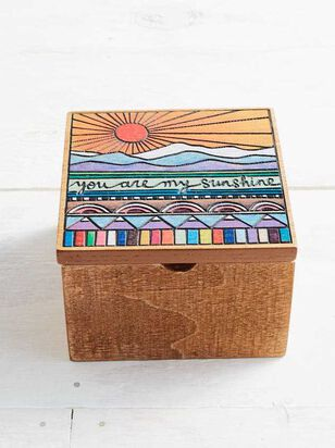 My Sunshine Wooden Box - Altar'd State
