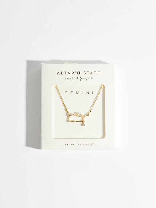 Zodiac Charm Necklace - Gemini Detail 3 - Altar'd State