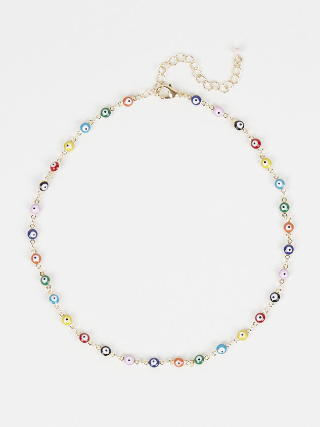 Iris Beaded Necklace - Altar'd State