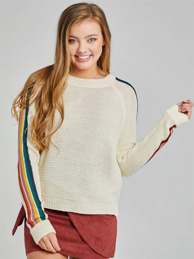 Over the Rainbow Sweater - Altar'd State