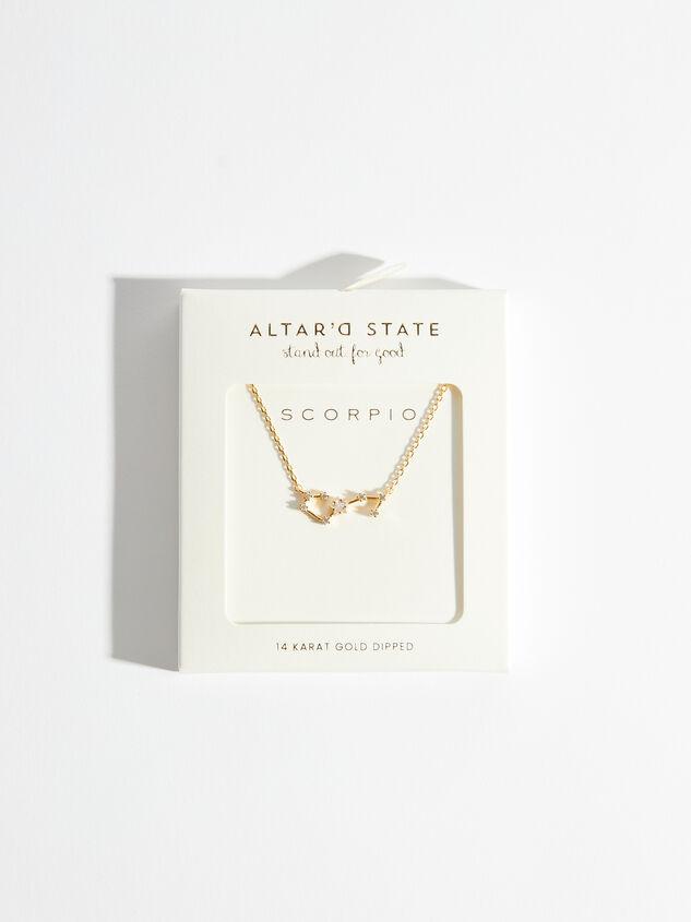 Zodiac Charm Necklace - Scorpio Detail 3 - Altar'd State