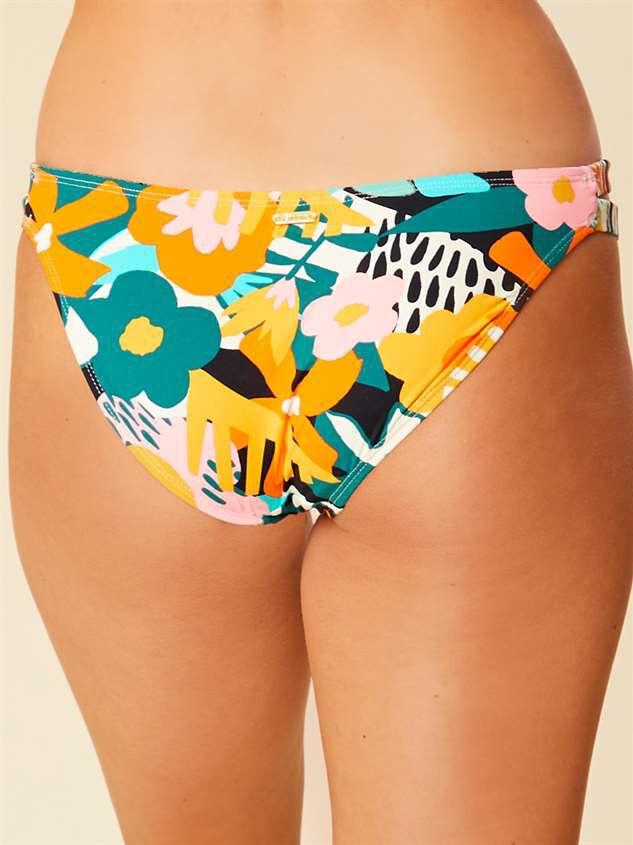Zanza Tropical Bikini Swim Bottoms Detail 5 - Altar'd State