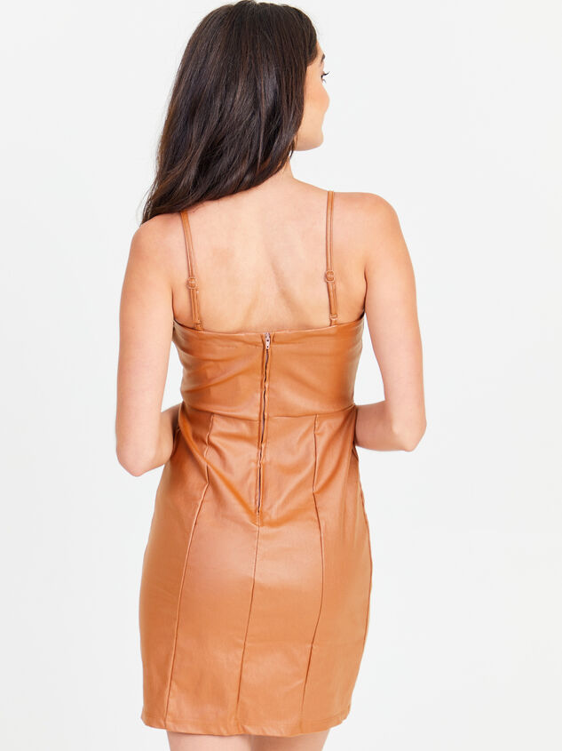Annie Leather Dress Detail 3 - Altar'd State