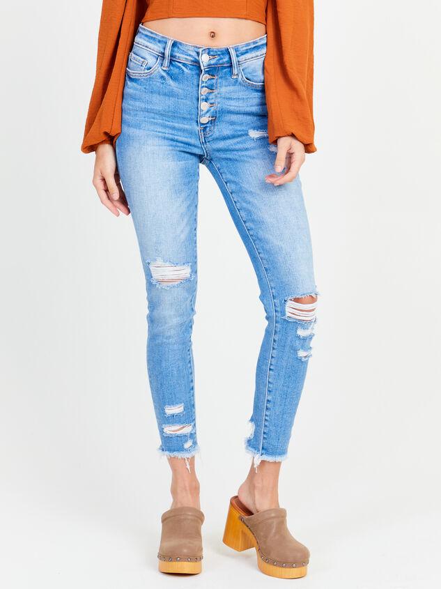 Delilah Skinny Jeans Detail 2 - Altar'd State