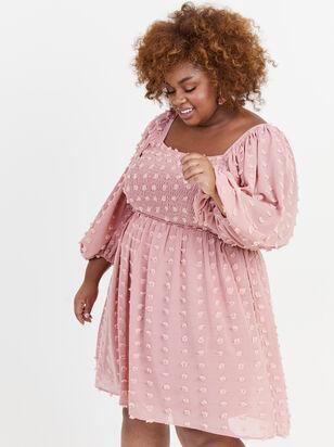 Majorie Clipdot Dress - Altar'd State