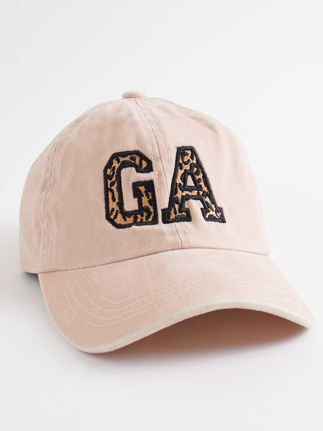 Georgia Leopard Baseball Hat - Altar'd State