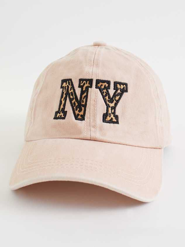 New York Leopard Baseball Hat - Altar'd State