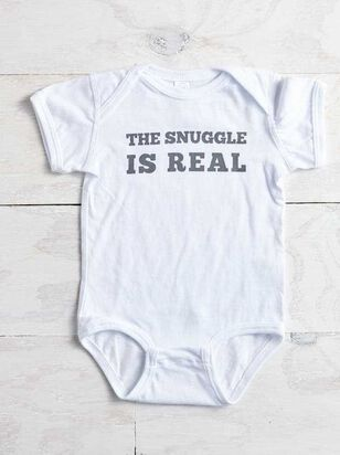 Snuggle is Real Onesie - Altar'd State