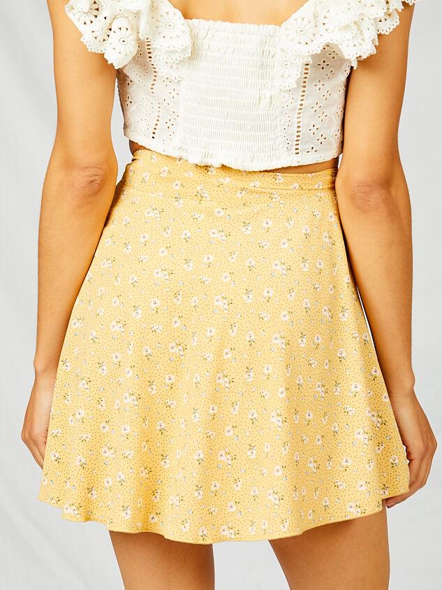 Alena Wrap Skirt Detail 2 - Altar'd State