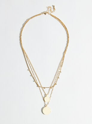 18k Gold Charlotte Layered Necklace - Altar'd State