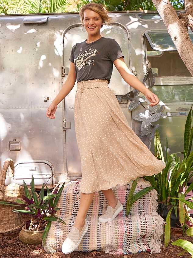 Kailey Midi Skirt - Altar'd State