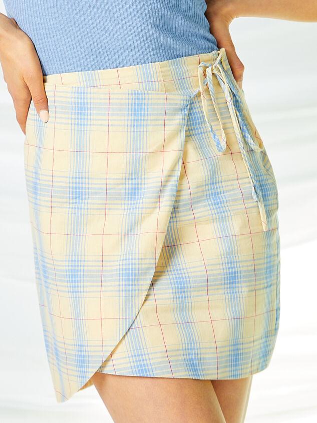 Dev Plaid Skirt Detail 3 - Altar'd State