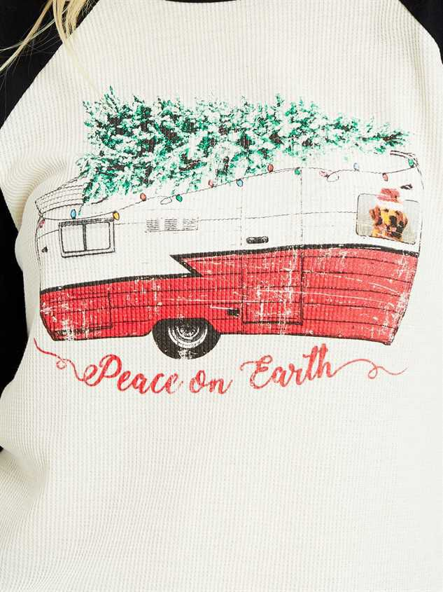 Peace on Earth Top Detail 4 - Altar'd State