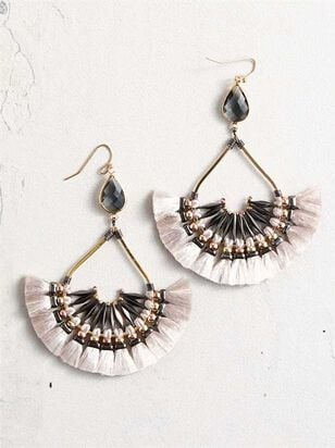 Wexa Tassel Earrings