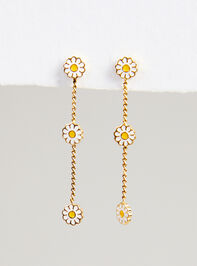 Field of Daisies Earrings Detail 4 - Altar'd State
