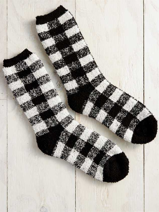 Buffalo Antique Plaid Socks - Altar'd State
