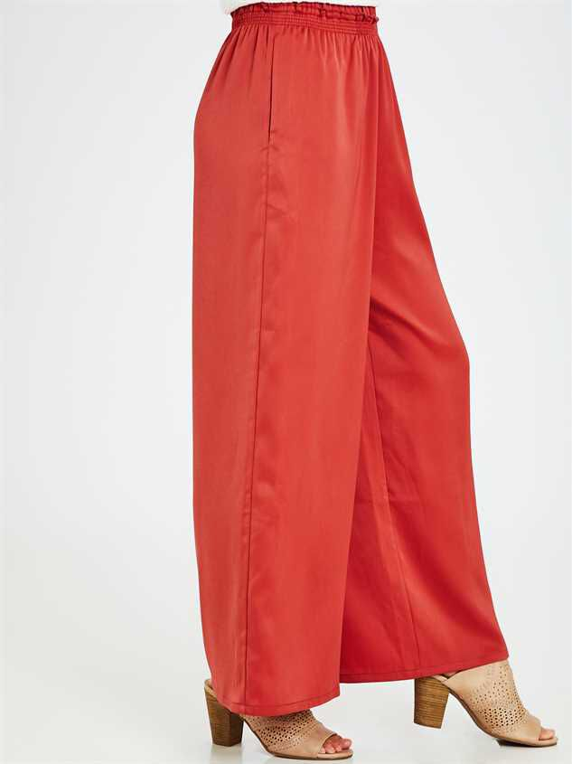 Penny Palazzo Pants Detail 3 - Altar'd State