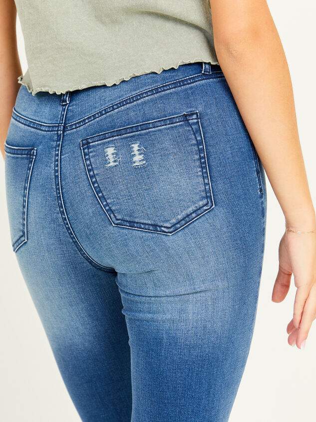Relinquish Skinny Jeans Detail 5 - Altar'd State