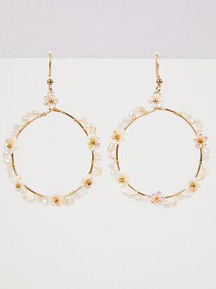 Dahlia Dangle Earrings - Altar'd State