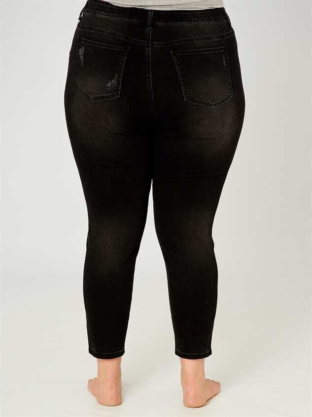 "Incrediflex 29"" Skinny Jeans Detail 4 - Altar'd State"