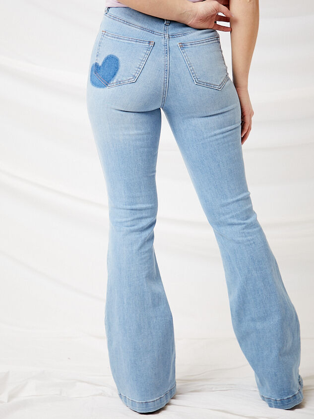 Crazy in Love Flare Jeans Detail 5 - Altar'd State