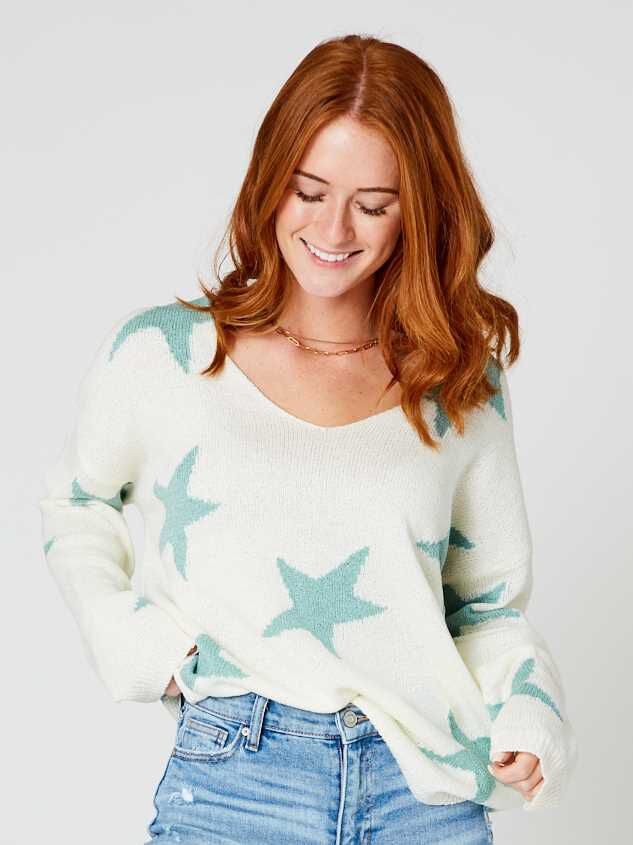 Starry Night Sweater - Altar'd State