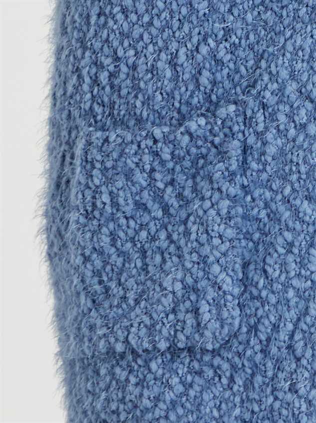 Eyelash Cardigan Sweater Detail 4 - Altar'd State