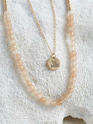 Be Still Necklace - Altar'd State